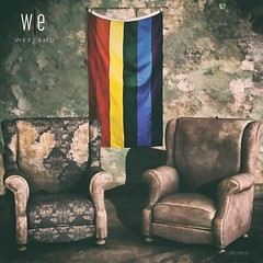 GIFT - [ west end ] Home - Hanging Pride Flag - Mesh - AD