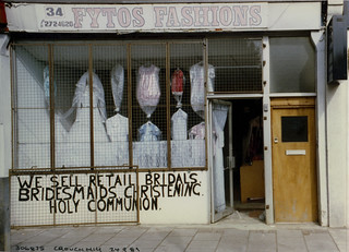Clothes, Shop, Crouch Hill, 1989 TQ3087-003