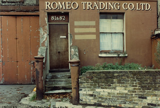 Romeo Trading, Roman Way, Lower Holloway, 1990 TQ3084-018