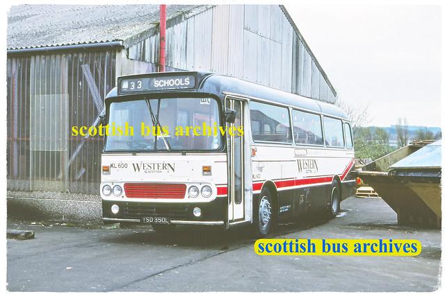 WESTERN SCOTTISH KL600 YSD350L
