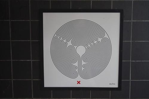 Art on the Underground Labyrinth 221 Arnos Grove closeup