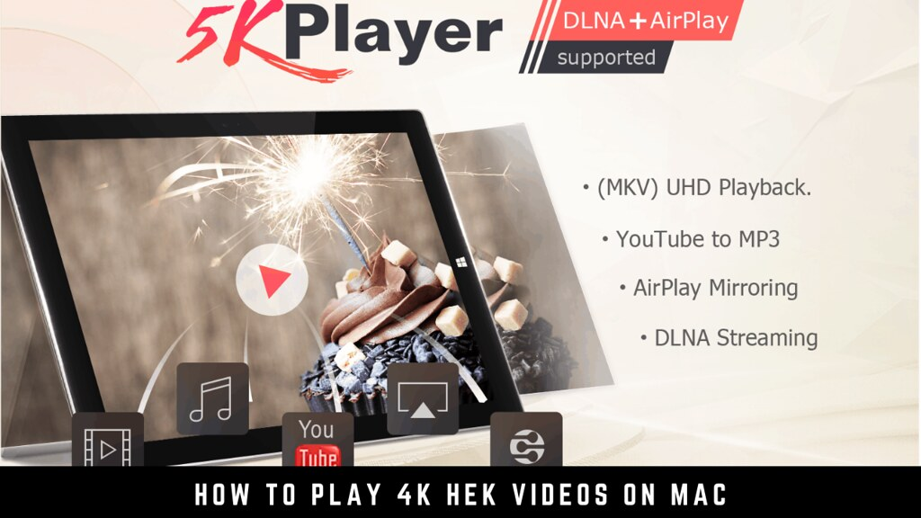 How to Play 4K HEK Videos on Mac