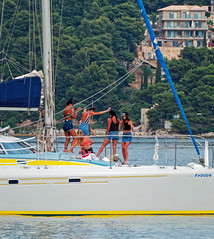 Another Boat - Another Party ( Skiathos Harbour - Greece) Panasonic DC-S1 & Lumix S 24-105mm F4 Zoom