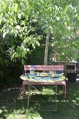 backyard lunch