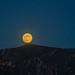éclipse pénombrale au dessus du mont Saint-Cyr