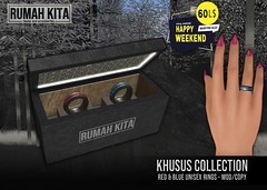 Rumah Kita - Khusus Collection - Blue & Red HW