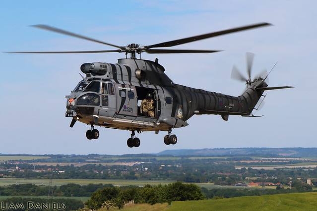 Eurocopter Puma HC2 - XW224 - Royal Air Force
