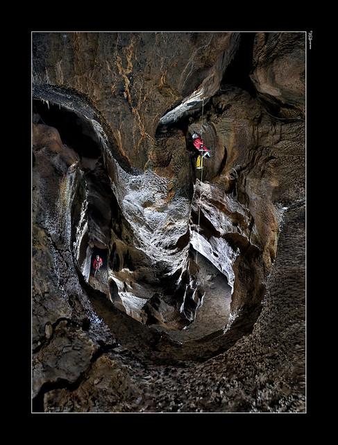 Cueva de Peña Gingia - El meandro...