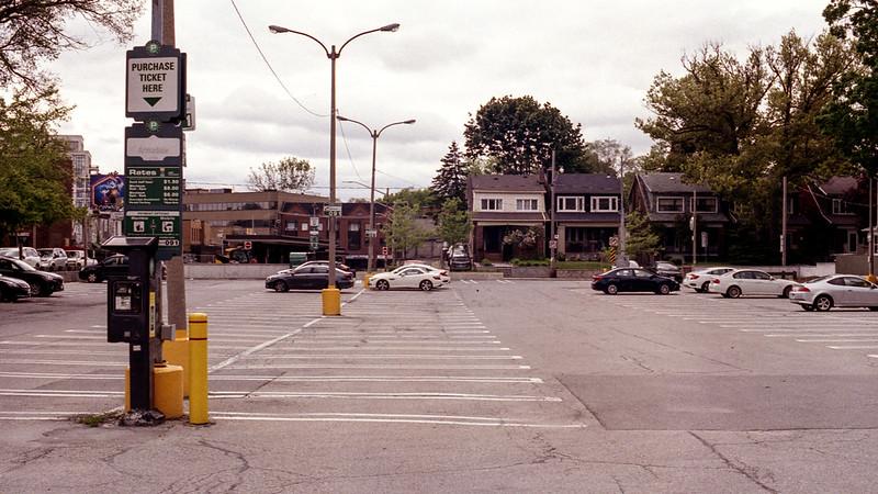 Bloor West Village Parking Lot
