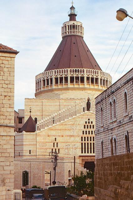 02 Nazareth January 1974 Church of the Annunciation.jpg