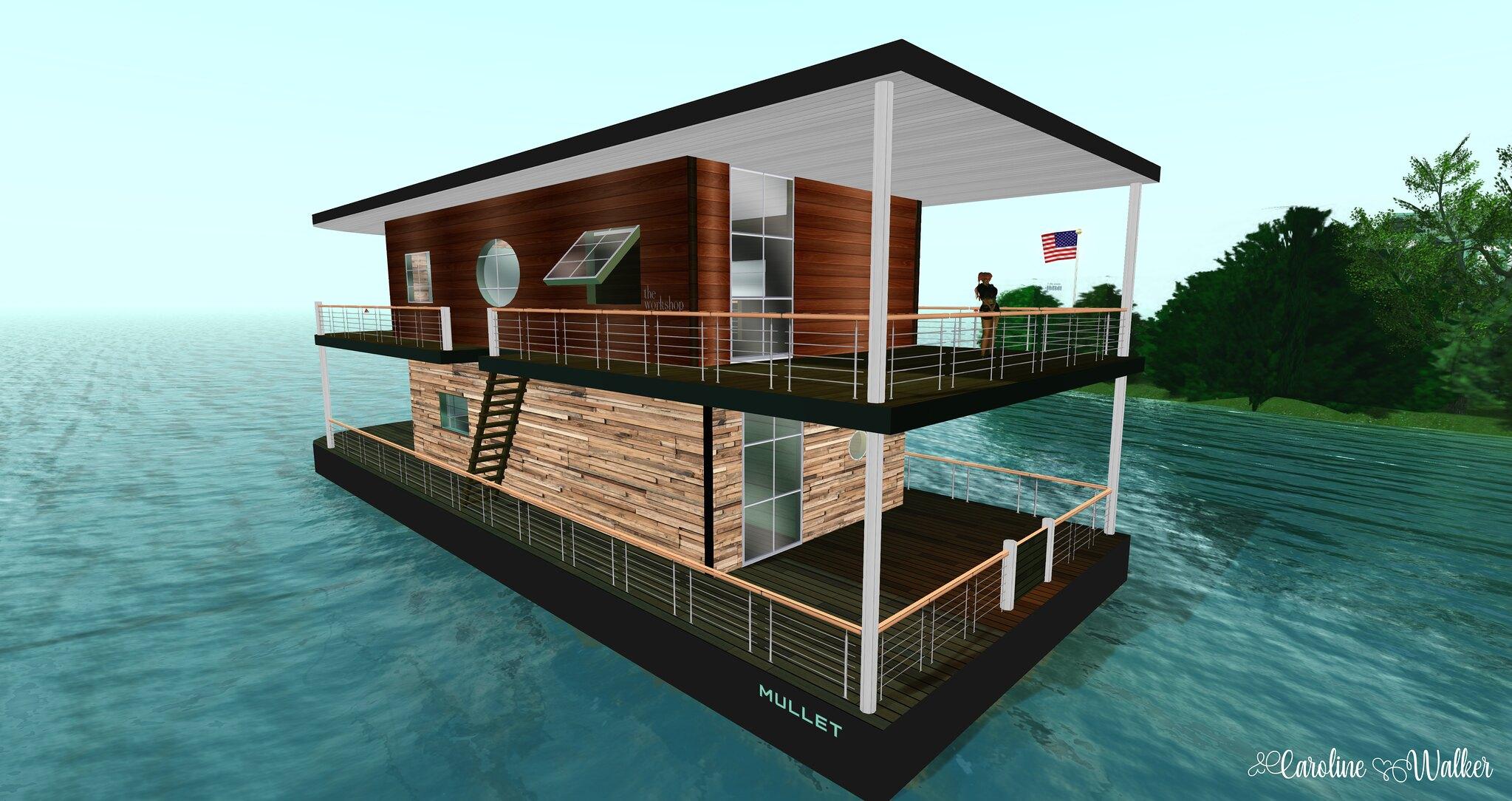Free houseboats!