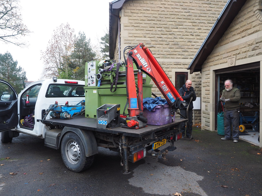 Warco GH1330 Delivery
