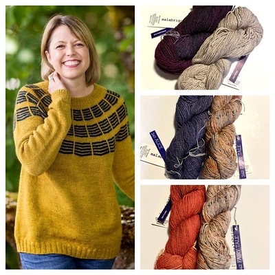 How about using Malabrigo Dos Tierras for your Soundtrack sweater for Olive Knits 4th Annual 4 Day KAL?