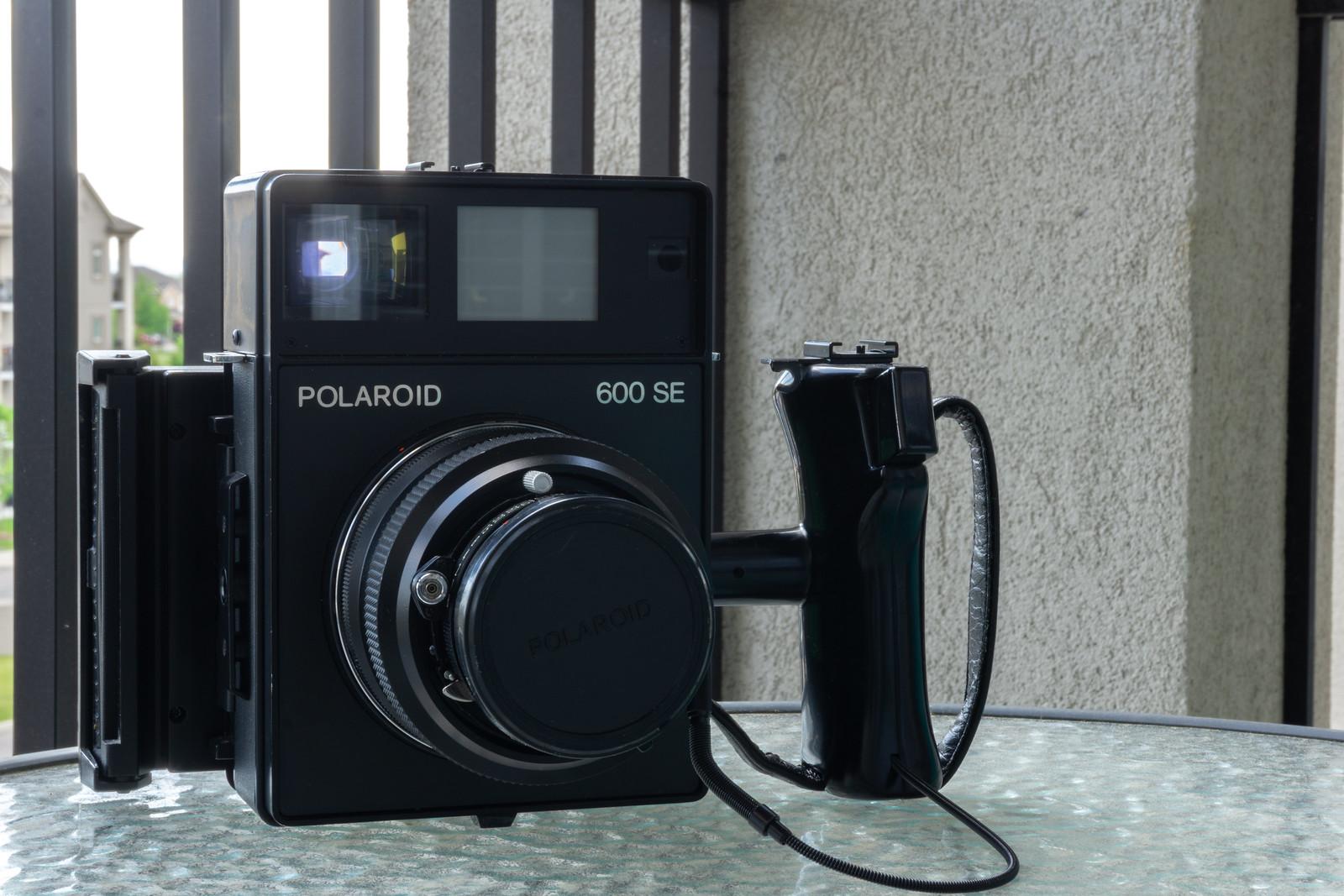 Camera Review Blog No. 124 - Polaroid 600 SE