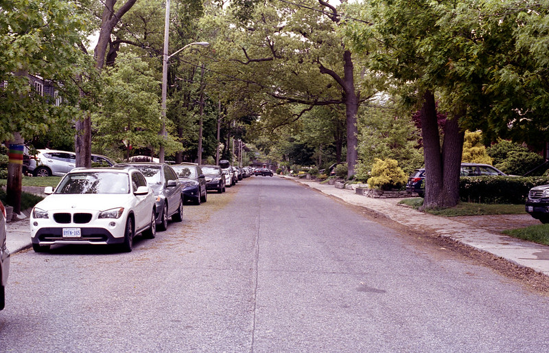 Bloor West Village Side Streettif