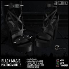Six Feet Under - Black Magic Heels