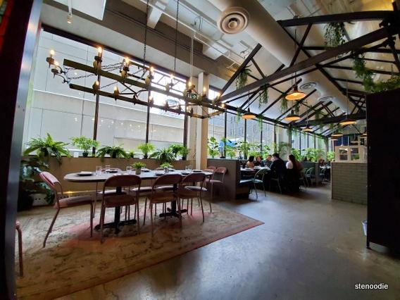 Rosalinda Restaurant interior