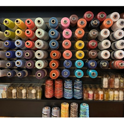 If you are a weaver or thinking of considering taking up weaving, I got in a big shipment of Gist Yarn's Duet Cotton/Linen and Mallo Cotton Slub weaving yarn. I also carry Ashford mercerized and unmercerized Cotton as well as Ashford Caterpillar Cotton!