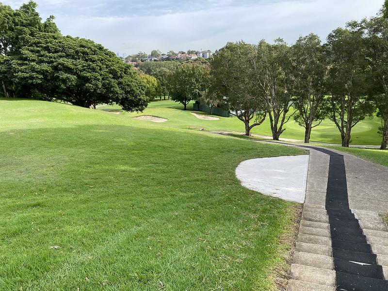 Cammeray Golf Club: hole 3 tee