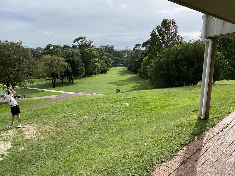 Cammeray Golf Club: hole 1 tee