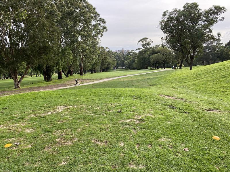 Cammeray Golf Club: hole 4 tee