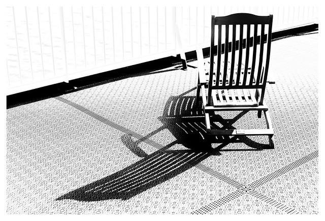 sun deck chair