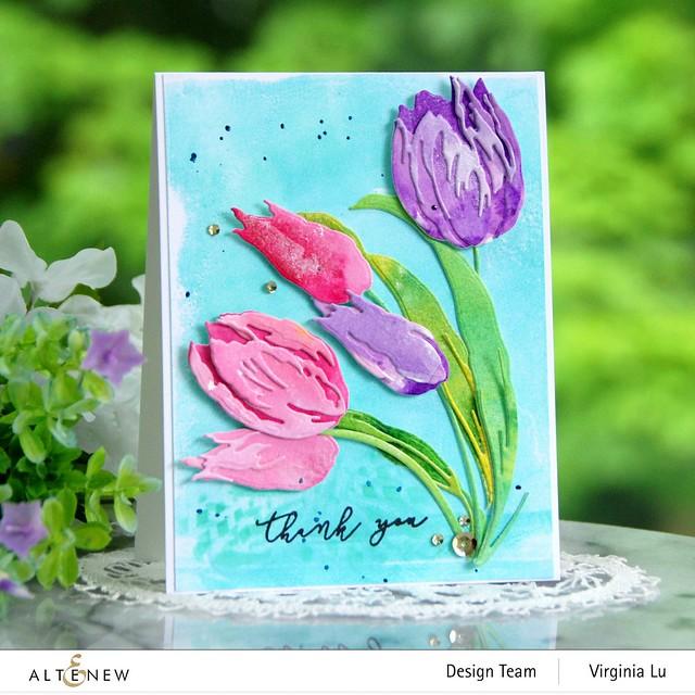 Altenew-Build-a-Flower-Tulip#2