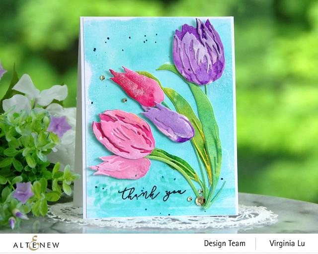 Altenew-Build-a-Flower-Tulip#1