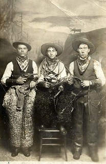 I fratelli Zita in America. Domenico a sinistra, mentre Vito Domenico probabilmente a destra
