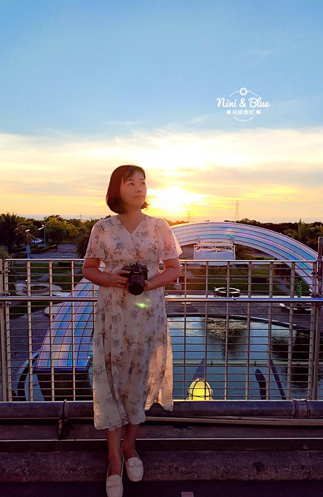 台中夜景夕陽 清水休息服務站美食41