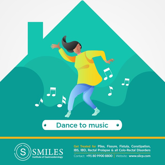 Dance to music and be healthy