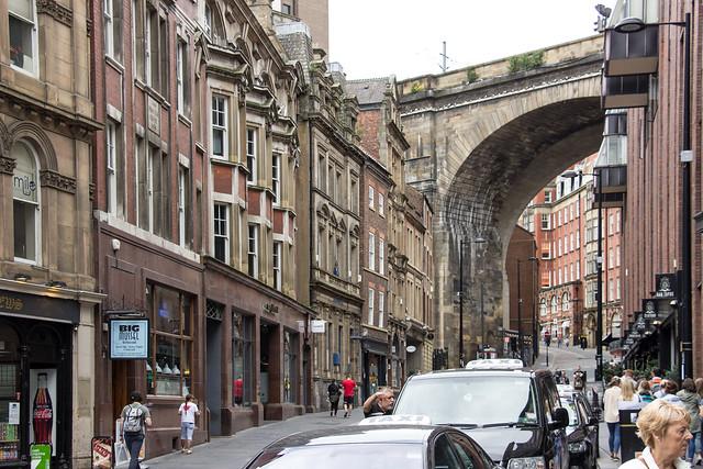 Railway Arch, Newcastle-upon-Tyne, England