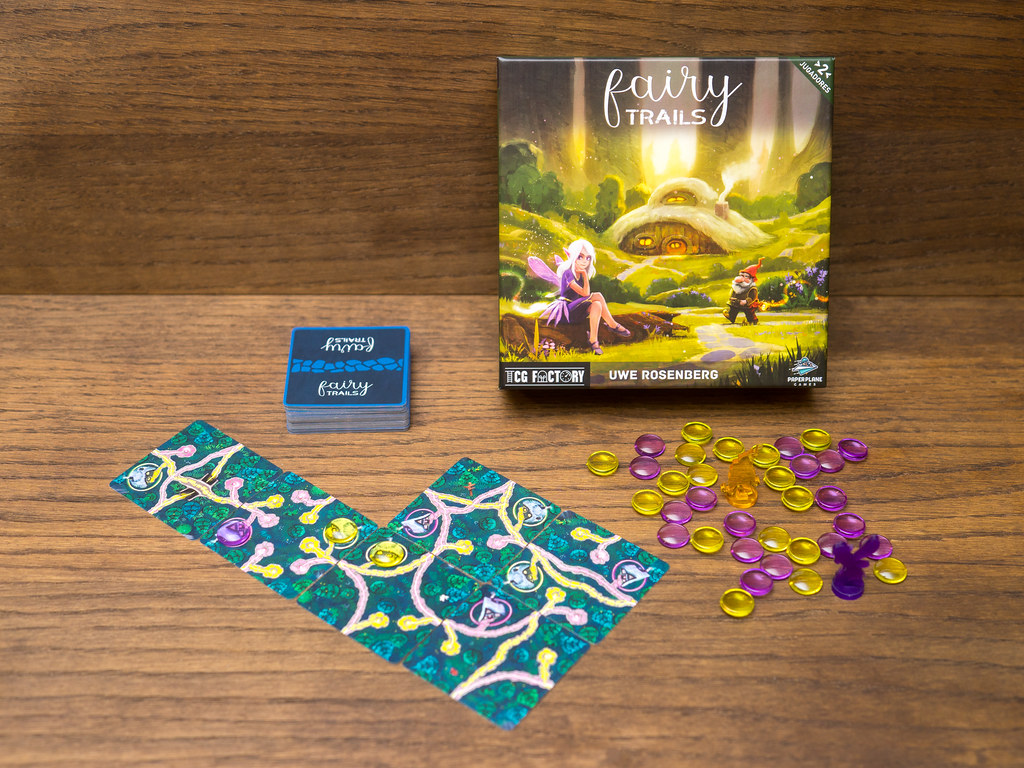fairy trails game juego tcg