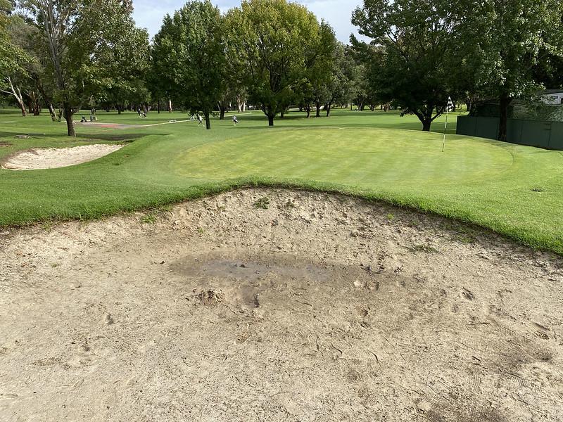 Cammeray Golf Club: hole 3 bunker