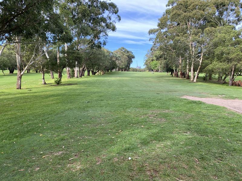 Cammeray Golf Club: hole 8 tee