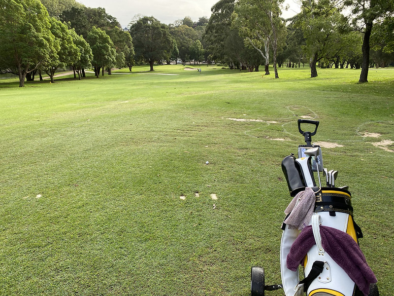 Cammeray Golf Club: hole 7 fairway