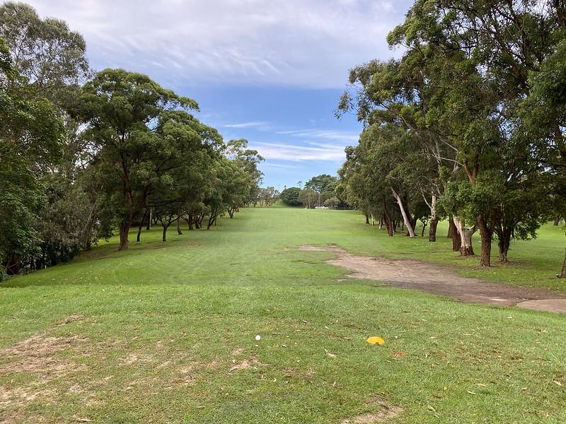 Cammeray Golf Club: hole 2 tee