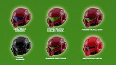 Samus Aran's Helmet - variants