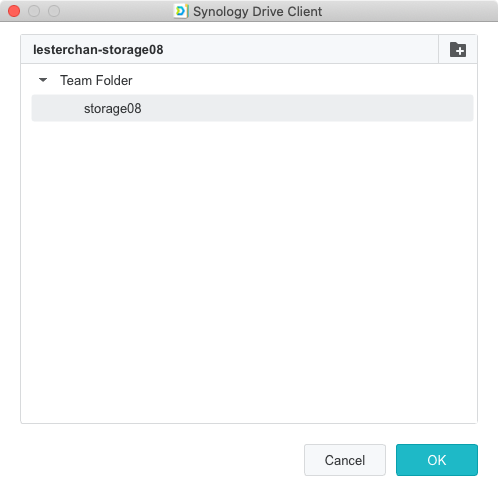 Synology DS220j - DSM - Setup Synology Drive Client #6