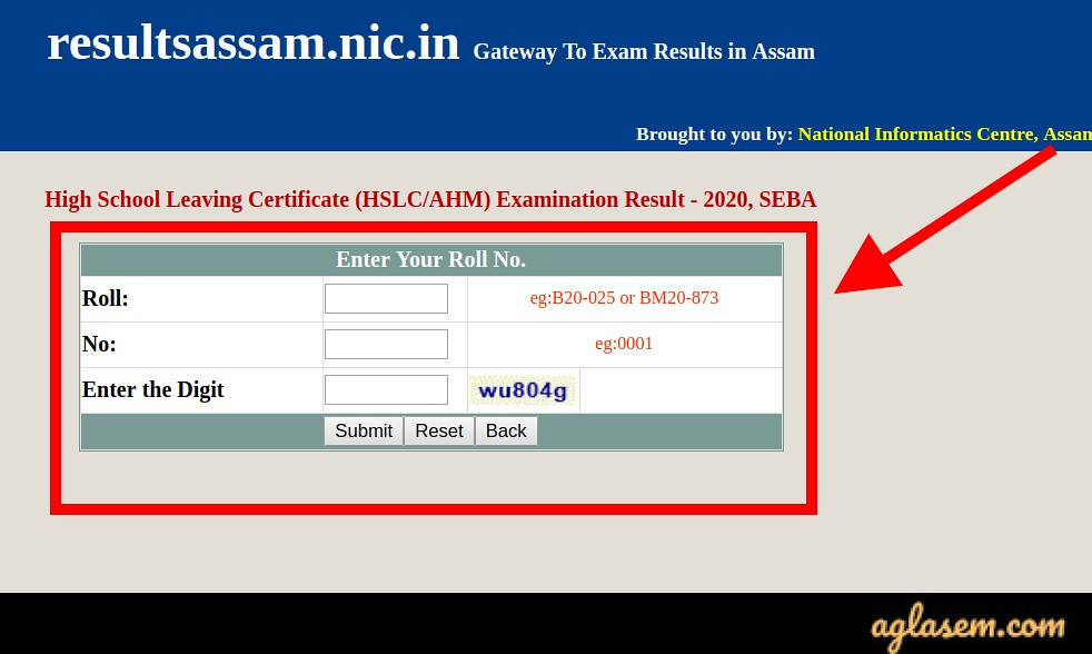 Assam HSLC/ AHM result 2020