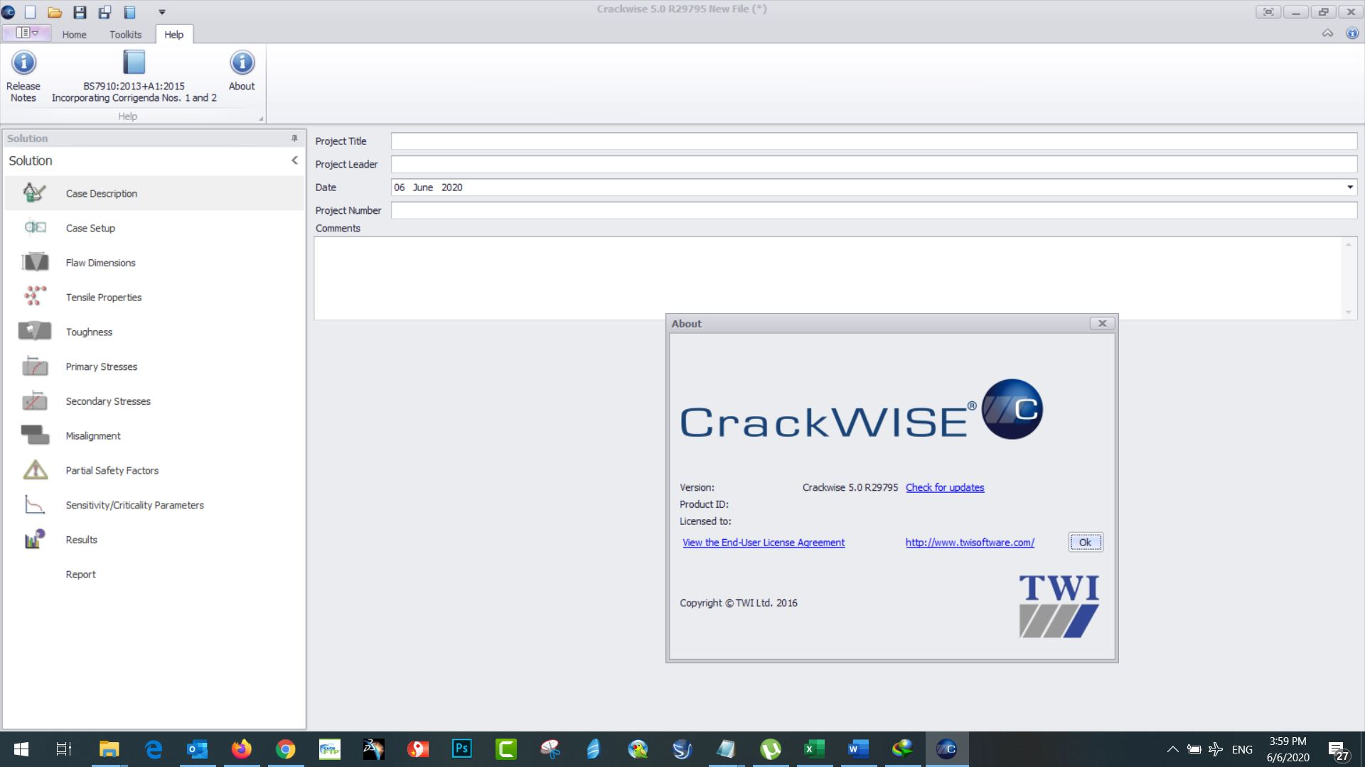 Working with TWI CrackWise 5.0 R29795 full license