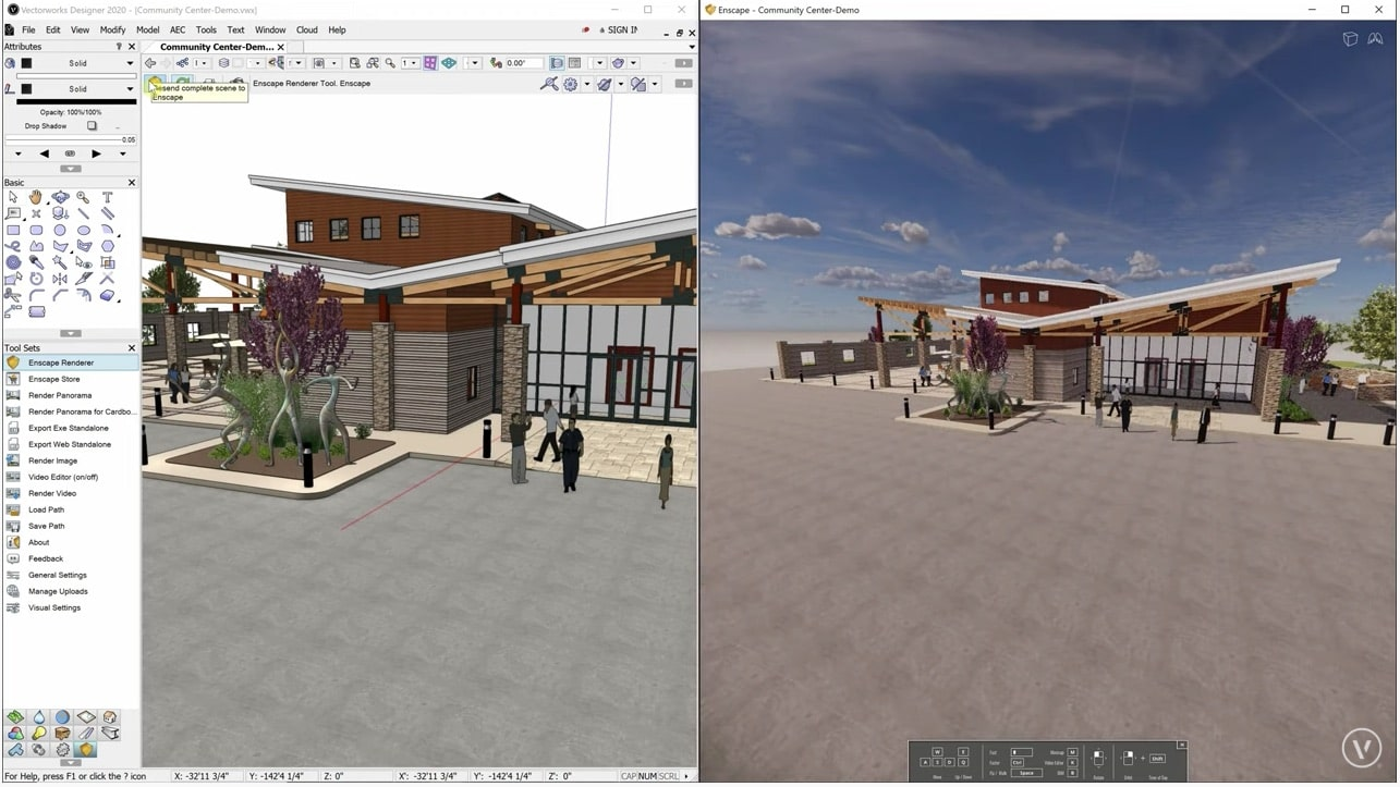 Working with Vectorworks 2020 SP3 full license