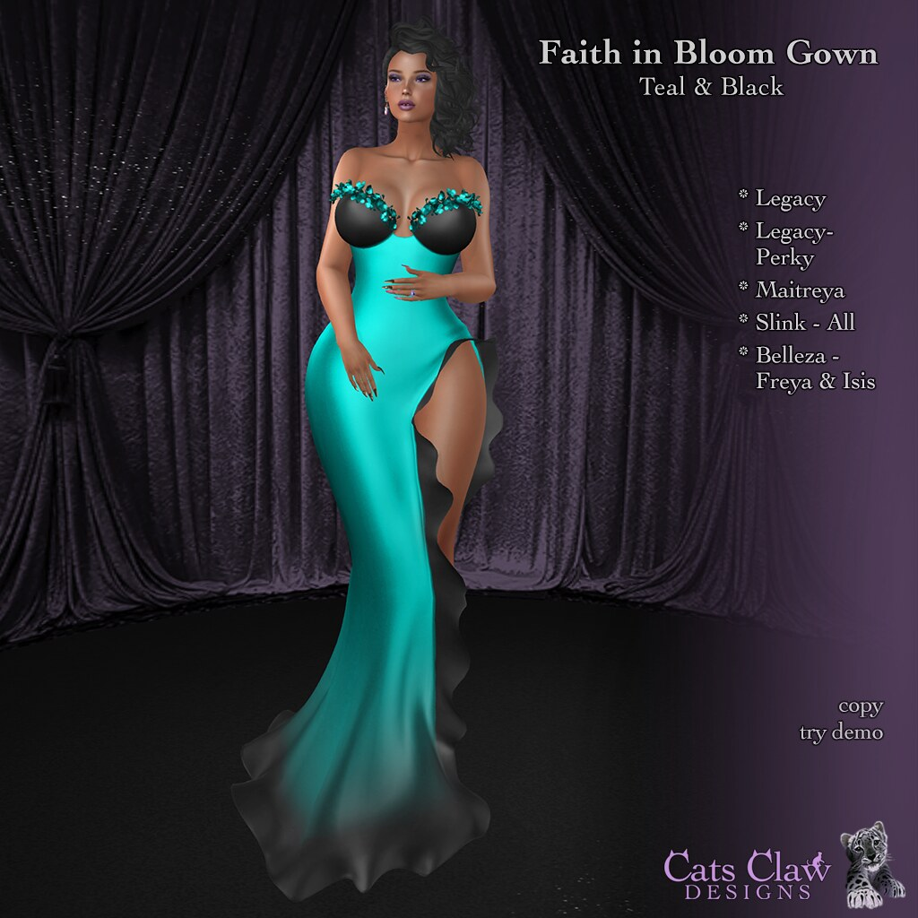 _CCD_Faith in Bloom Gown-Teal & Black 1024