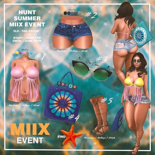 MIIX SUMMER HUNT