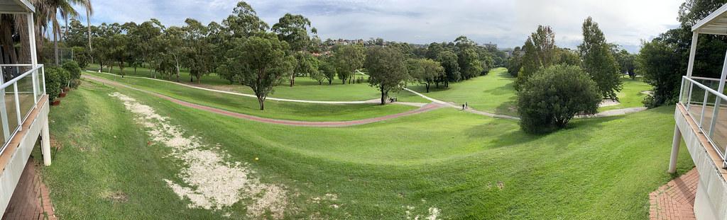Cammeray Golf Club panorama