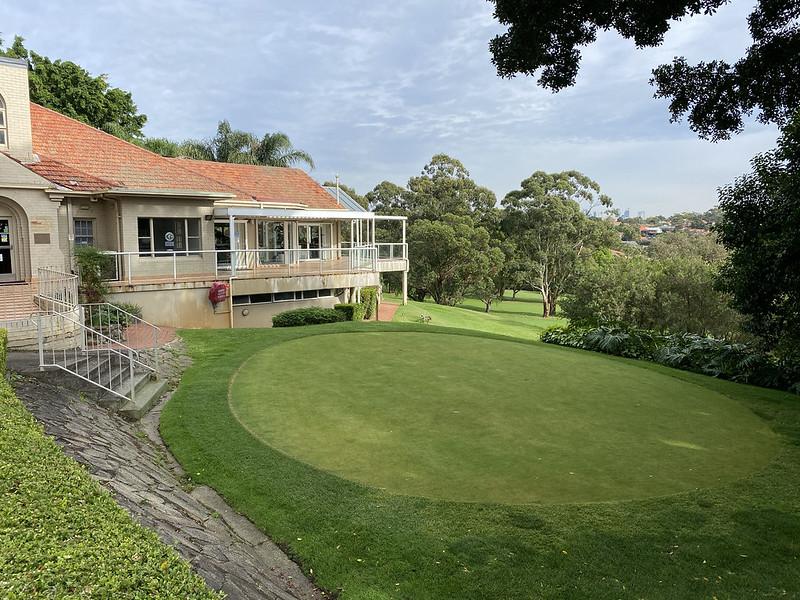 Cammeray Golf Club: practice green