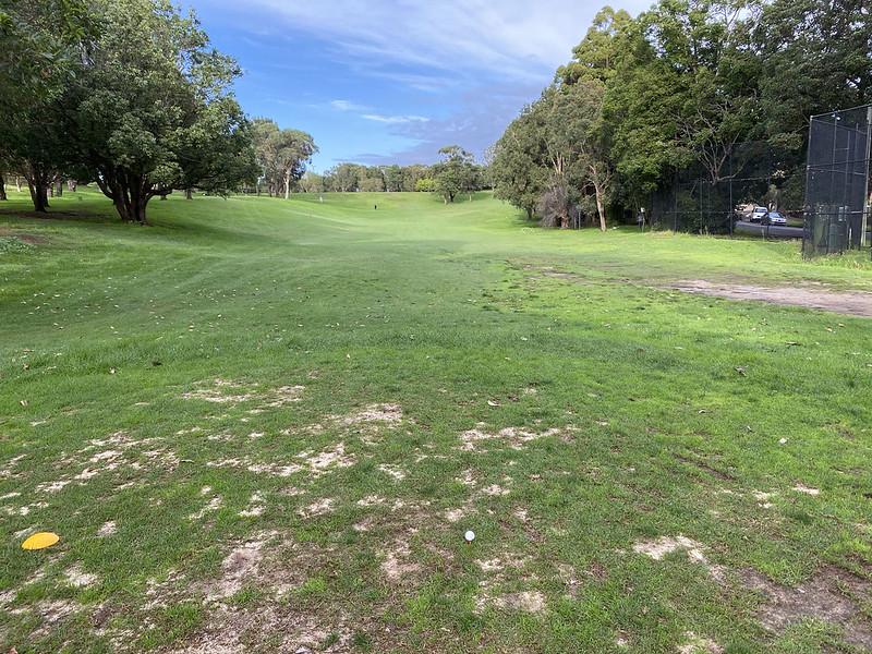 Cammeray Golf Club: hole 5 tee
