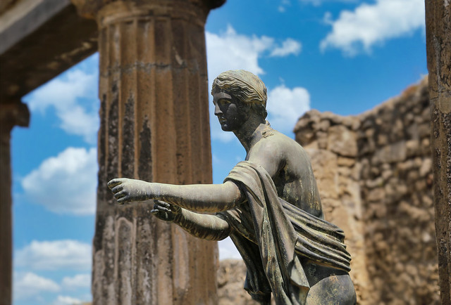 The Sanctuary of Apollo is one of the oldest places of worship in Pompeii