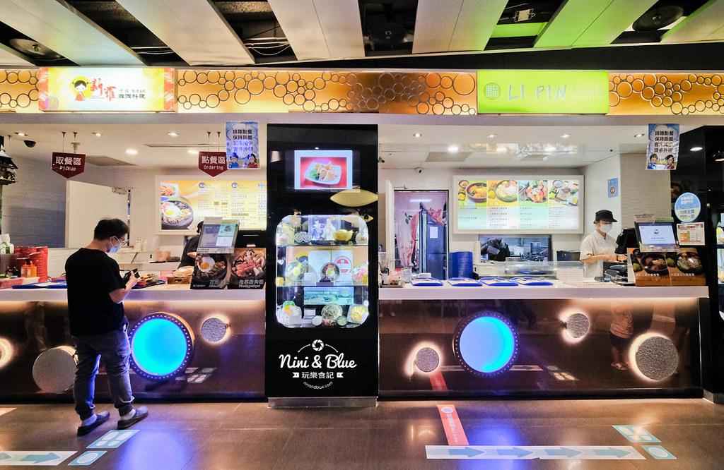 台中夜景夕陽 清水休息服務站美食35