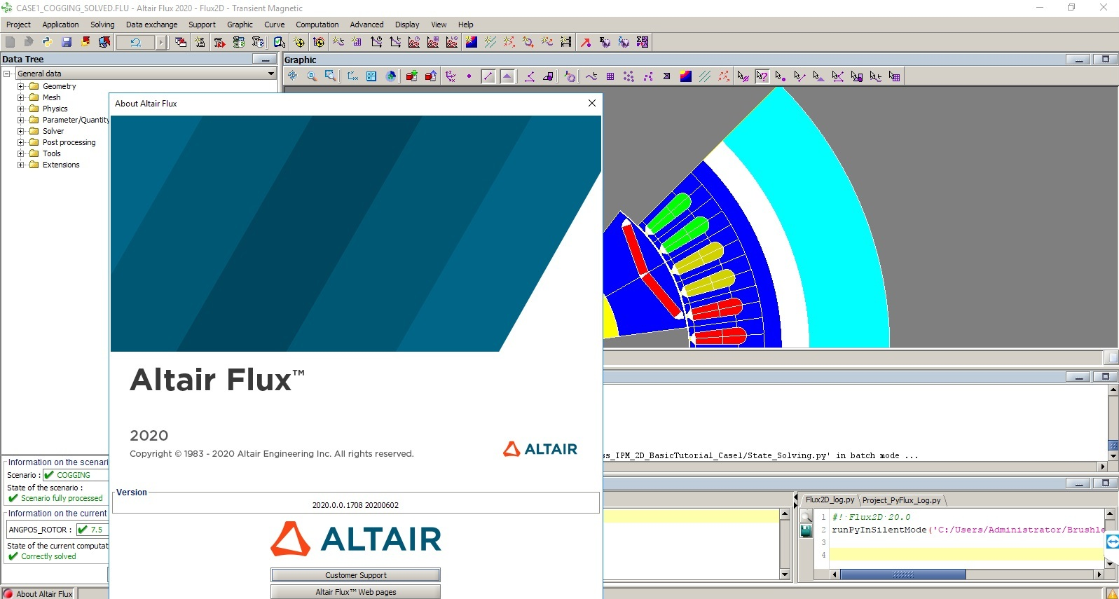 Working with Altair Flux 2020.0 Build 1708 Win64 full license